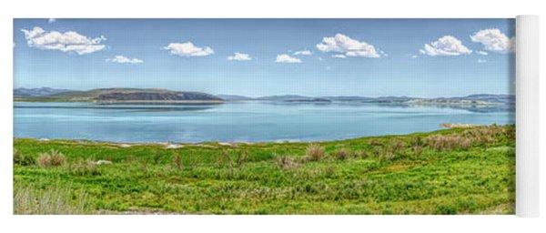 Mono Lake Panorama Yoga Mat
