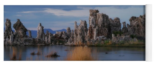 Mono Lake Tufas Yoga Mat