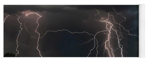 Monsoon Lighting Storm Yoga Mat
