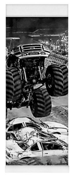 Monster Truck 2b Yoga Mat