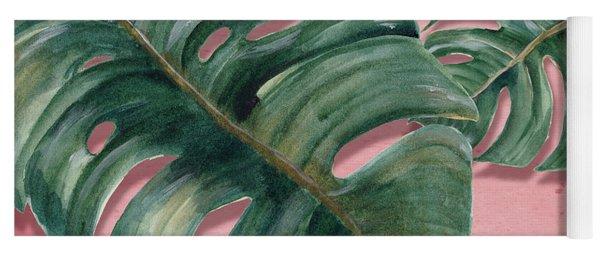 Monstera Leaf  Yoga Mat