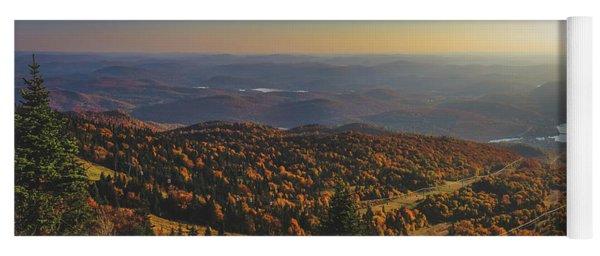 Mont Tremblant Summit Panorama Yoga Mat