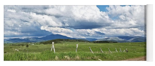 Montana Dirt Roads 1 Yoga Mat