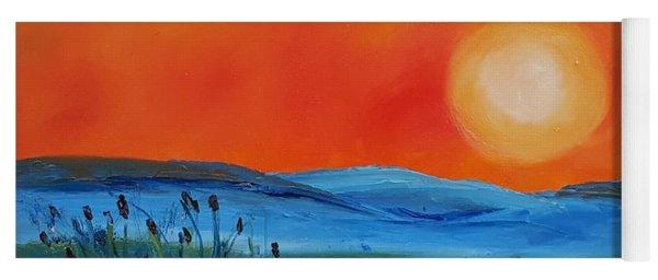 Montana Firery Sunset             49 Yoga Mat