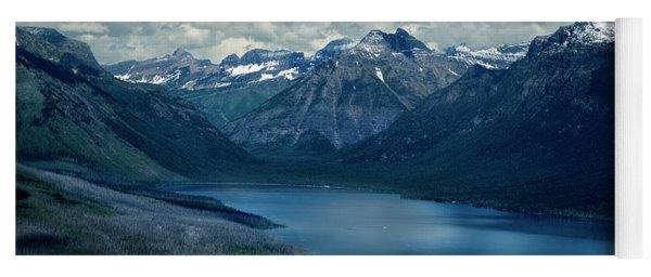 Montana Mountain Vista And Lake Yoga Mat