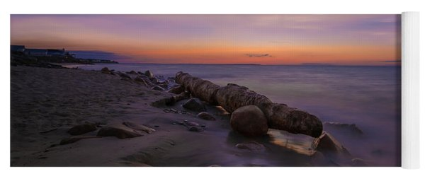 Montauk Sunset Boulders Yoga Mat