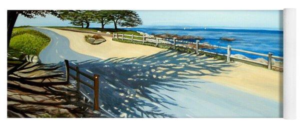 Monterey Shadows Yoga Mat