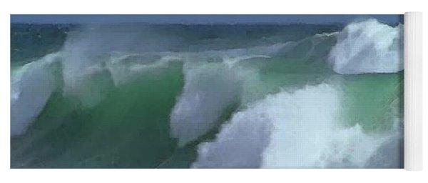 Monterey Surf Yoga Mat