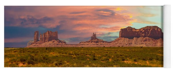 Monument Valley Landscape Vista Yoga Mat