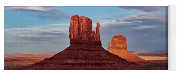 Monument Valley Mittens Yoga Mat