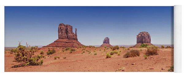 Monument Valley Panorama Yoga Mat