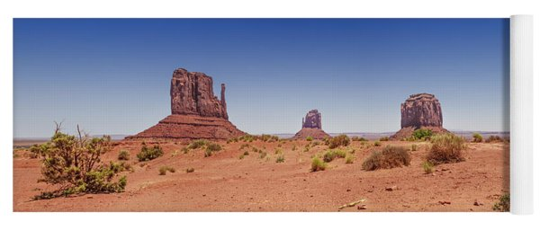 Monument Valley Panoramic Landscape Yoga Mat