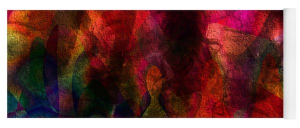 Moods In Abstract Yoga Mat
