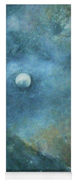 Moon And Earth Yoga Mat