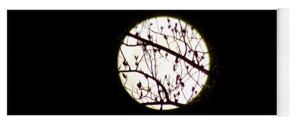 Moon Branches Yoga Mat
