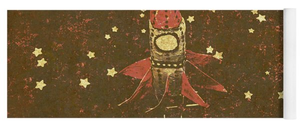 Moon Landings And Childhood Memories Yoga Mat