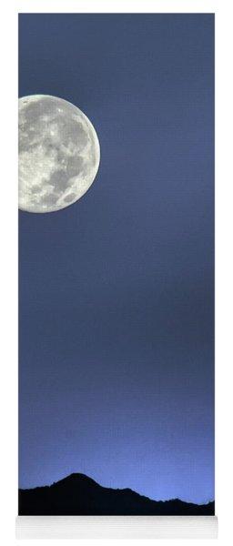 Moon Over Ko'olau Yoga Mat