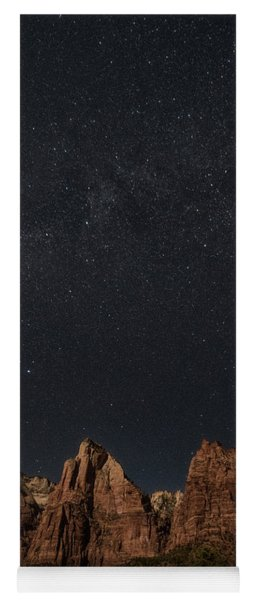 Moonlight On Court Of Patriarchs Yoga Mat