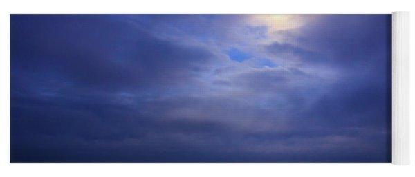 Moonlight On The Ocean At Hatteras Yoga Mat