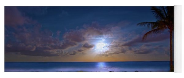 Moonlight Waves Yoga Mat