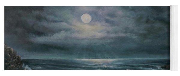 Moonlit Seascape Yoga Mat