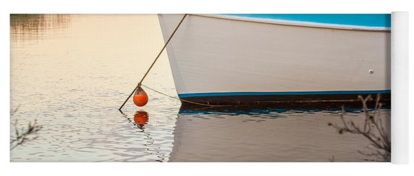 Moored Boat 2 Yoga Mat