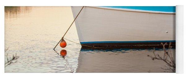 Moored Boat 2 Yoga Mat