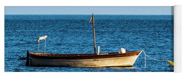 Moored Boat Yoga Mat