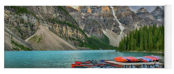 Moraine Lake Yoga Mat