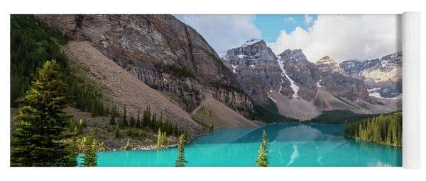 Moraine Lake Banff National Park Yoga Mat