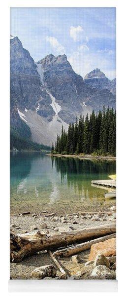 Moraine Lake Splendor Yoga Mat