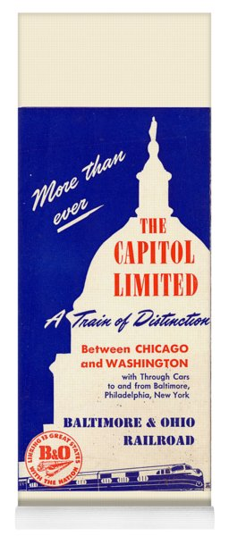 More Than Ever, The Capitol Limited Yoga Mat