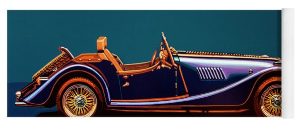Morgan Roadster 2004 Painting Yoga Mat