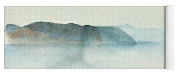 Morgondis Over Kusten - Morning Haze Over The Swedish Westcoast, Hunnebo_1211 Up To 70 X 70 Cm Yoga Mat