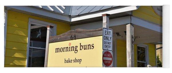 Morning Buns Sign Yoga Mat