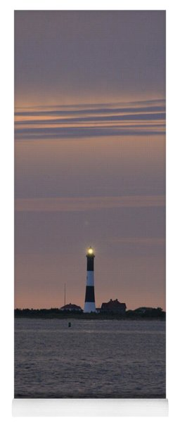 Morning Flash Of Fire Island Light Yoga Mat