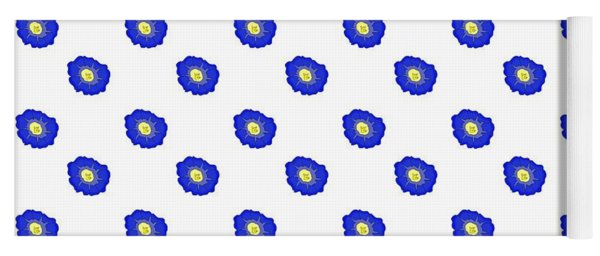 Morning Glory Pattern Yoga Mat