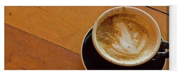 Morning Hot Latte Yoga Mat
