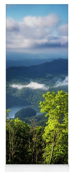 Morning In The Blue Ridge Mountains Yoga Mat