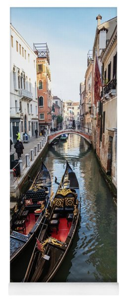 Morning In Venice In Winter Yoga Mat