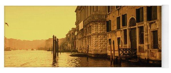 Morning In Venice Sepia Yoga Mat