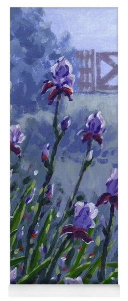 Morning Iris Yoga Mat