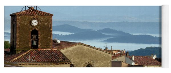 Morning Mist In Provence Yoga Mat