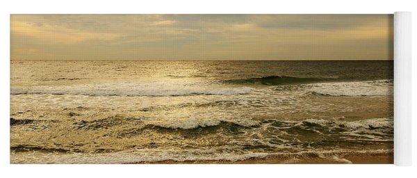 Morning On The Beach - Jersey Shore Yoga Mat