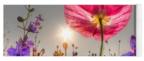 Morning Pink Yoga Mat