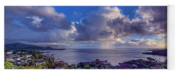 Morning Rain In Kaneohe Bay Yoga Mat