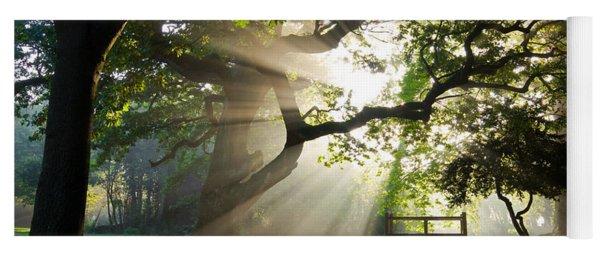 Morning Sunrise In Hampden Park Yoga Mat