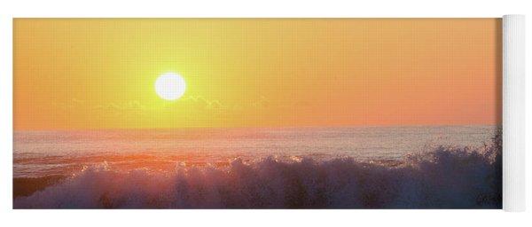 Morning Waves Yoga Mat