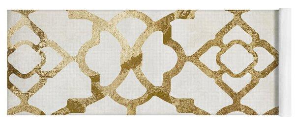 Moroccan Gold I Yoga Mat