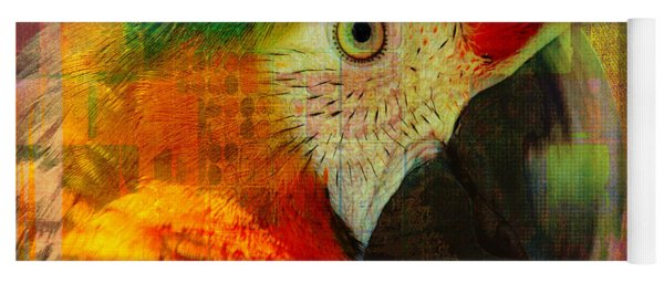 Mosaic Macaw 2016 Yoga Mat